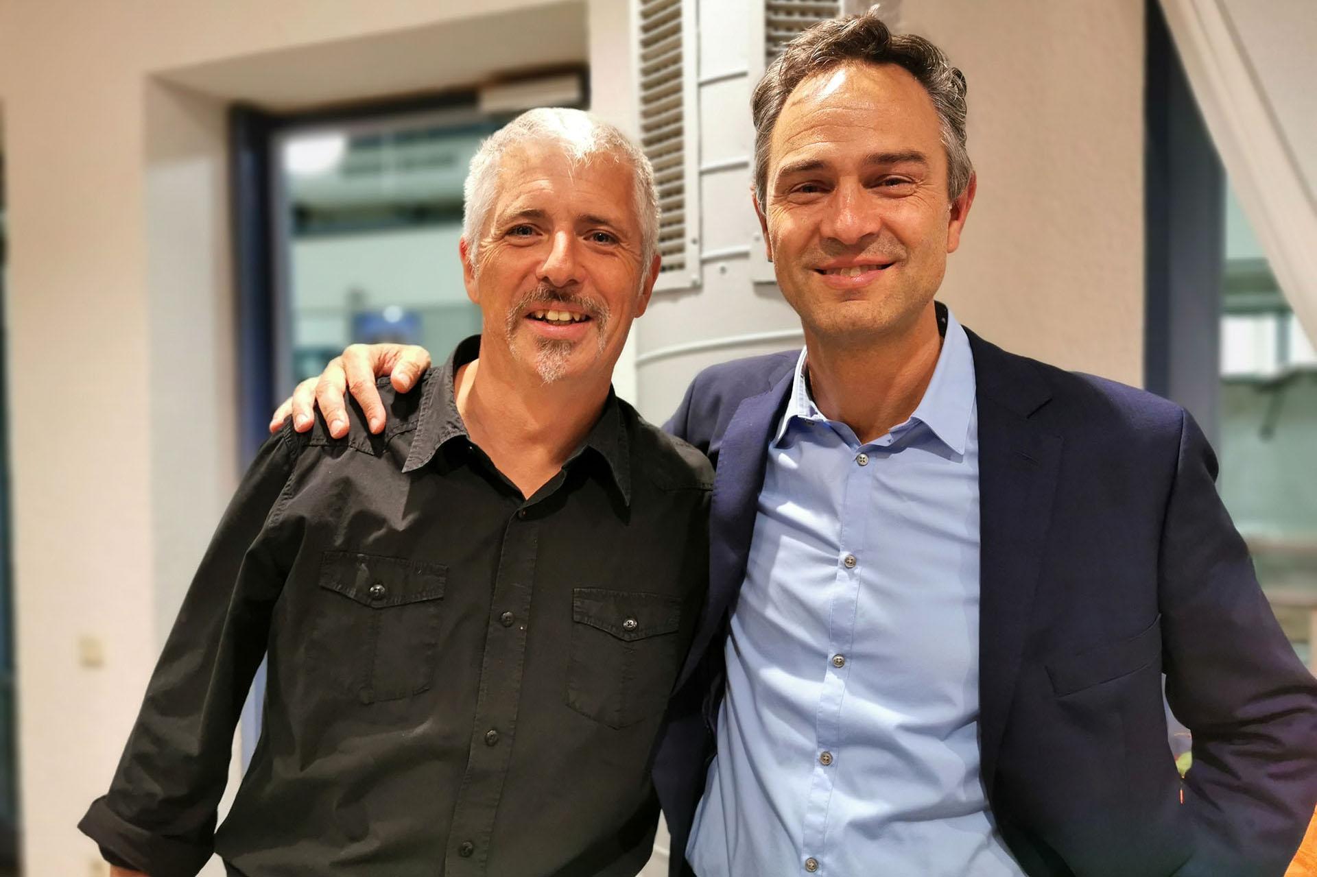 Dirk Müller und Dr. Daniele Ganser