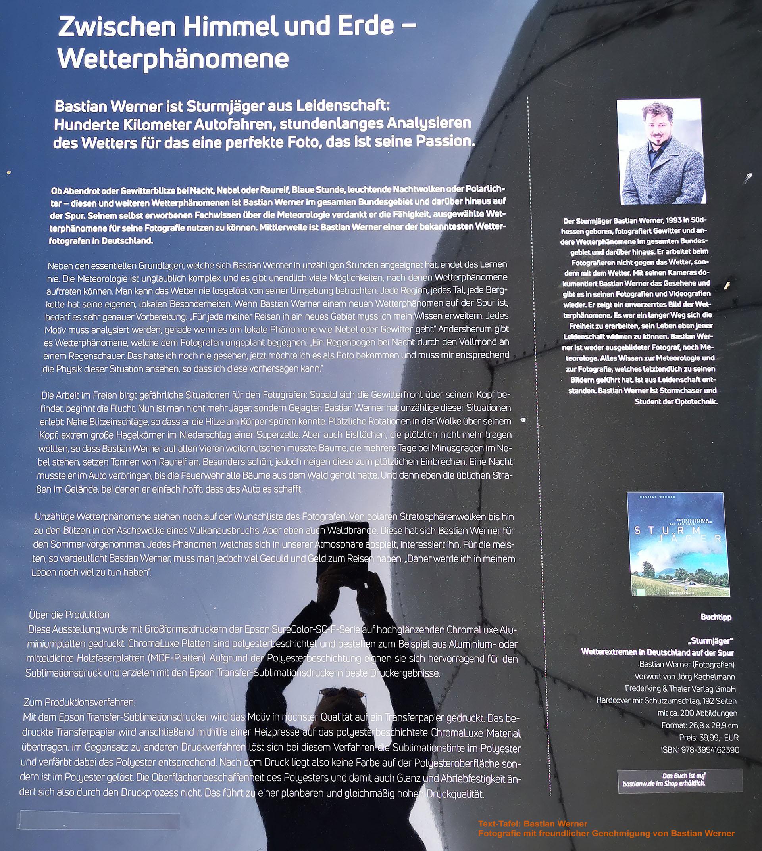 """Bastian Werner, """"Zwischen Himmel und Erde - Wetterphänomene"""""""